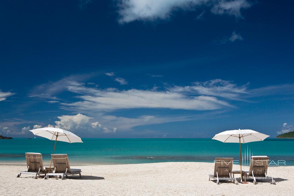 Beach Lounge at Hermitage Bay, Antigua & Barbuda