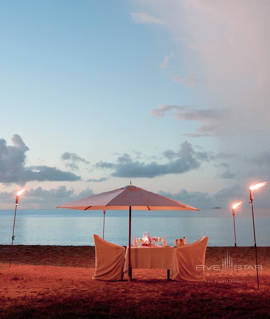 Private Beach Dinner at Hermitage Bay, Antigua & Barbuda