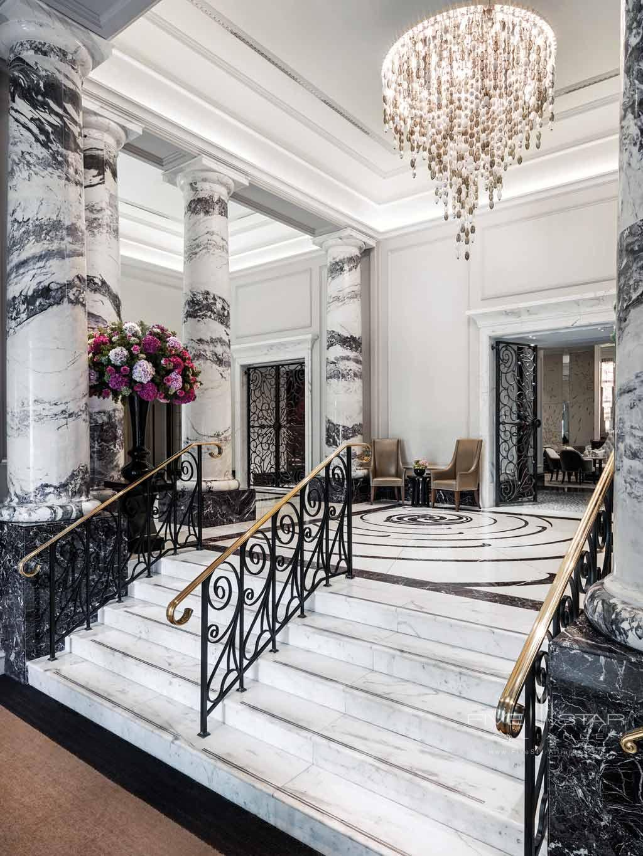 Lobby of The Langham London, United Kingdom