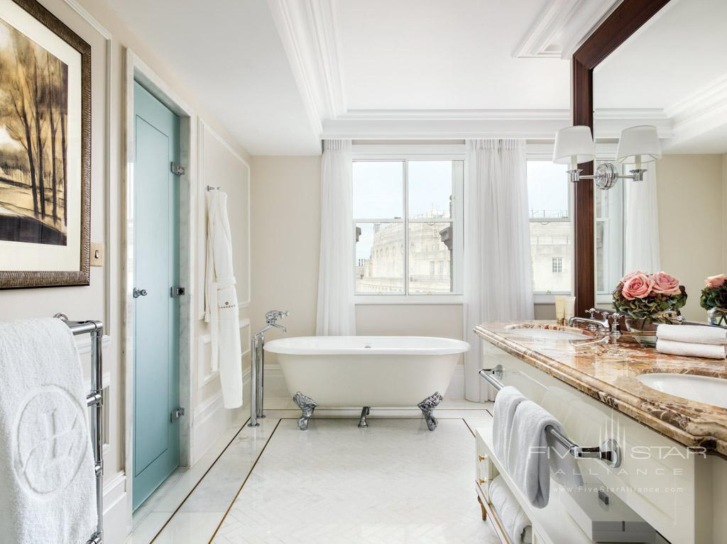 The Langham London Executive Suite Bathroom