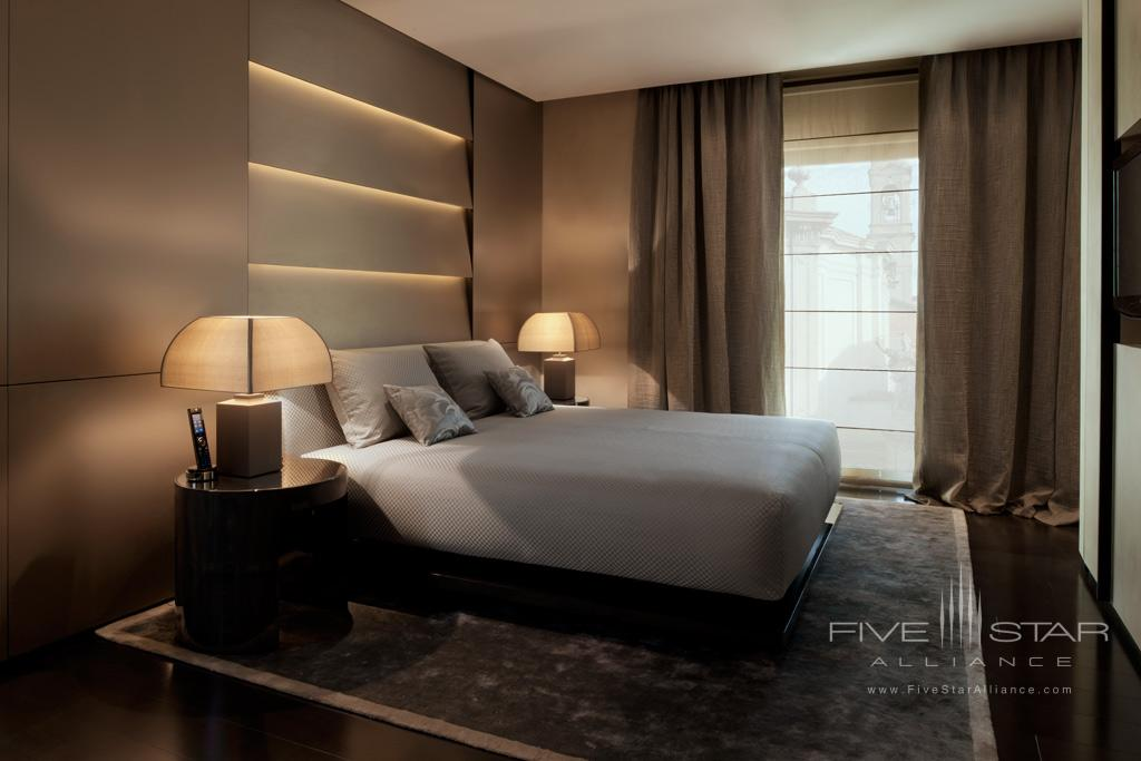 Premiere Guest Room at Armani Hotel Milano, Italy