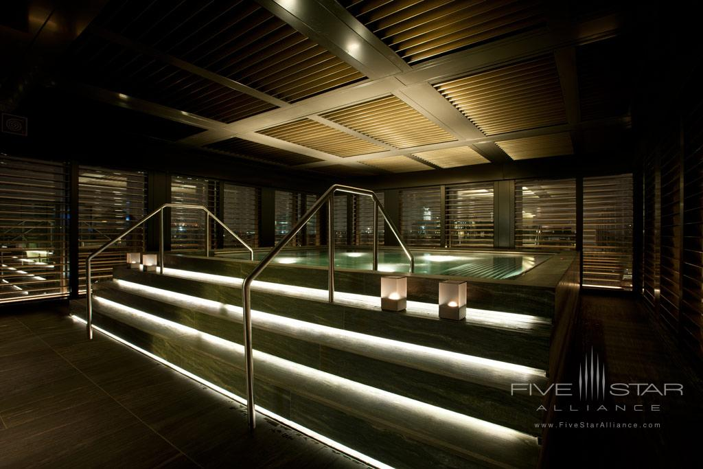Spa and Pool at Armani Hotel Milano, Italy