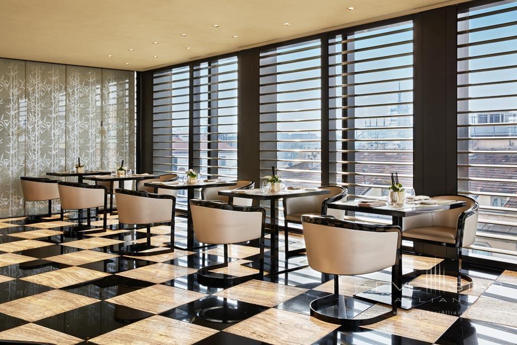 Dine at Armani Hotel Milano, Italy