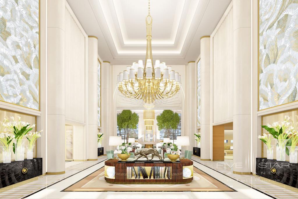 Lobby of Waldorf Astoria Beverly Hills, CA