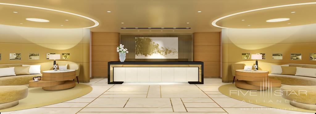 Reception at Waldorf Astoria Beverly Hills, CA