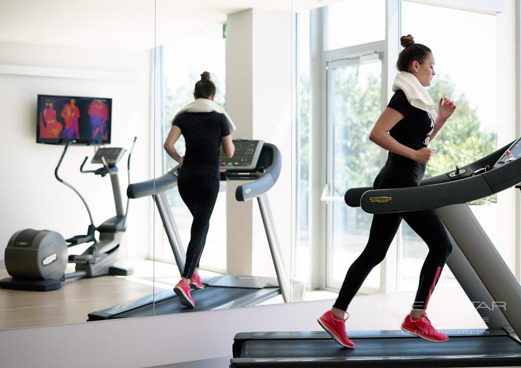 Gym at Radisson Blu Resort Split, Croatia