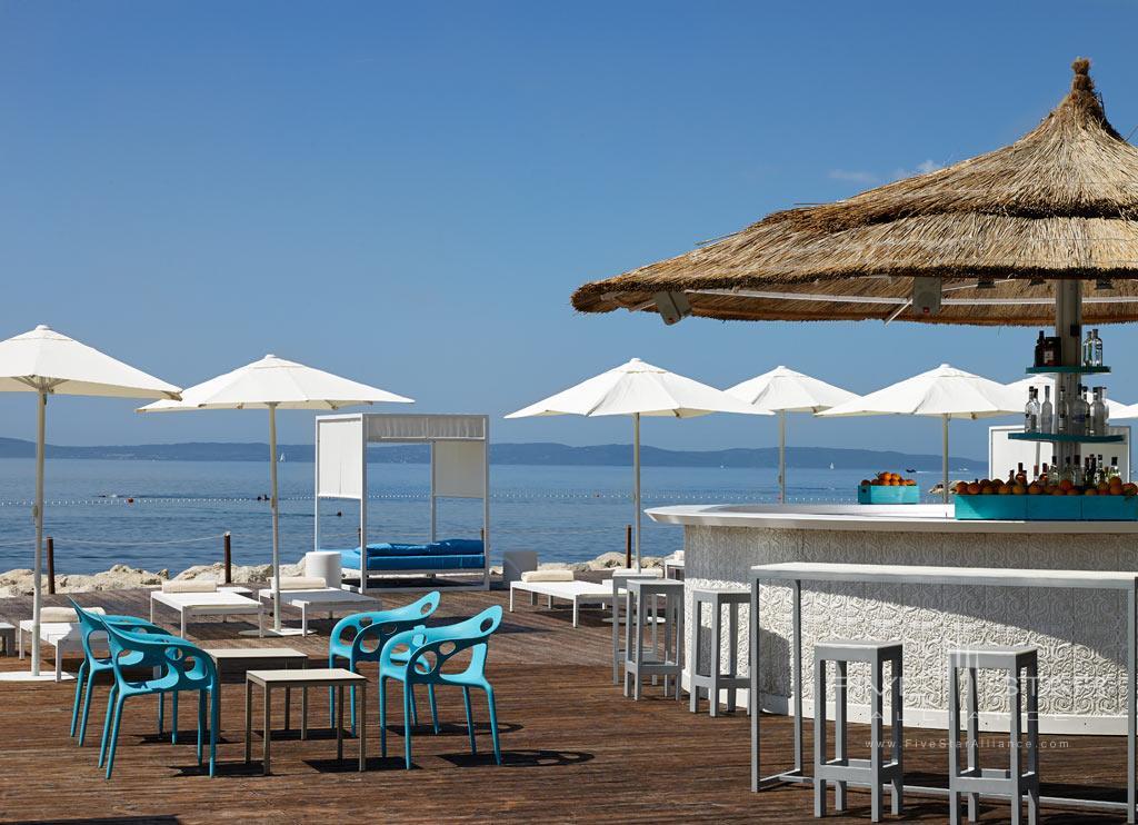 VIP Deck at Radisson Blu Resort Split, Croatia