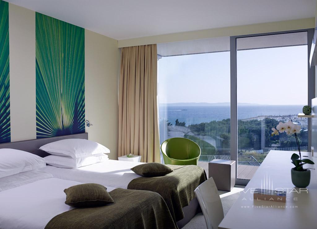 Deluxe Twin Guest Room at Radisson Blu Resort Split, Croatia