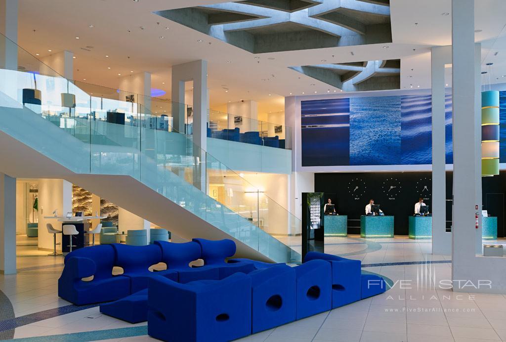 Lobby of Radisson Blu Resort Split, Croatia