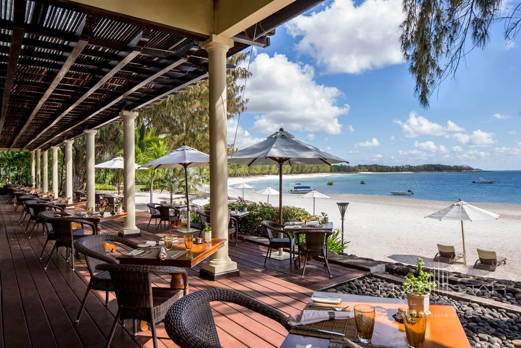 Dining at The Residence Mauritius