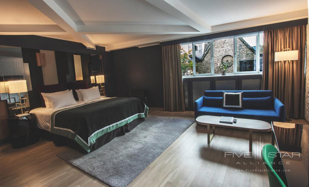 Junior Suite at First Hotel Skt  Petri, Copenhagen, Denmark