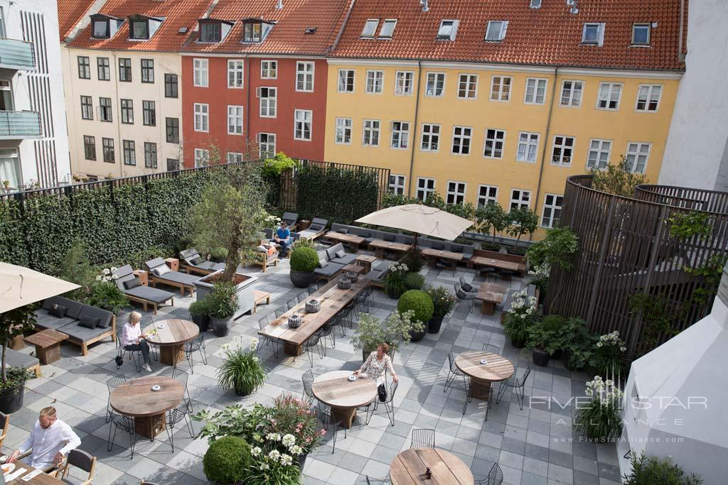 Terrace Views at First Hotel Skt  Petri, Copenhagen, Denmark