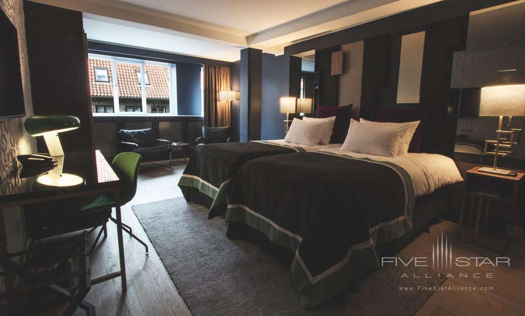 Deluxe Twin Guest Room at First Hotel Skt  Petri, Copenhagen, Denmark