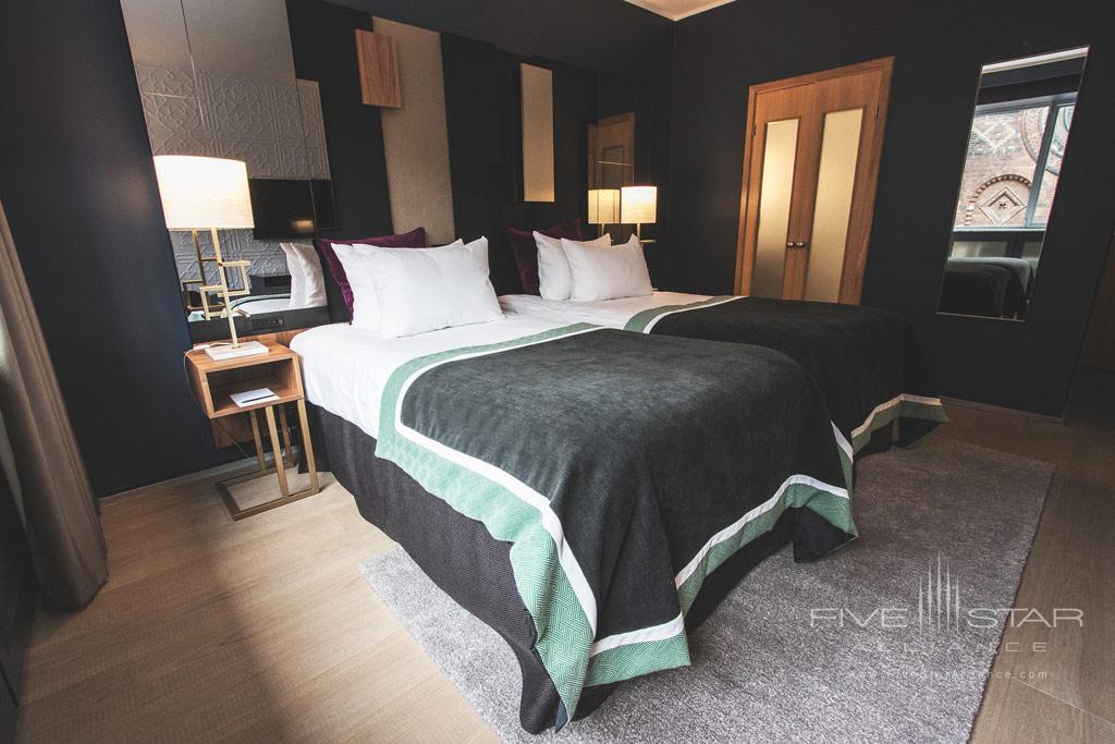 Superior Twin Guest Room at First Hotel Skt  Petri, Copenhagen, Denmark