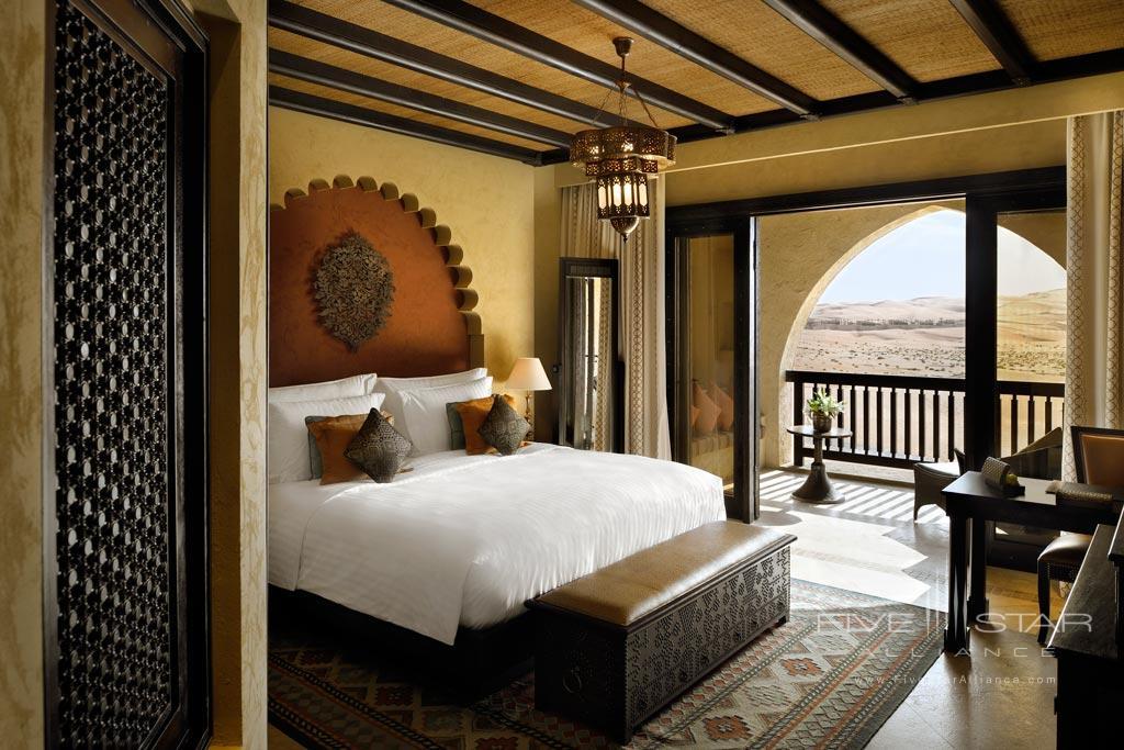 Deluxe Balcony King Guest Room at Qasr Al Sarab Desert Resort by Anantara, United Arab Emirates