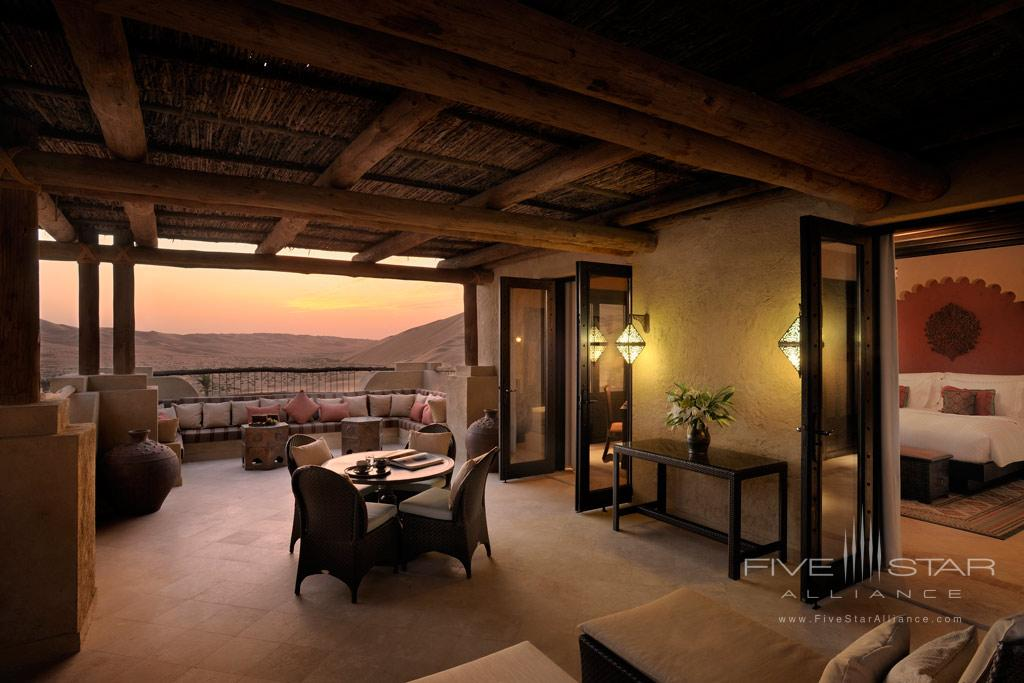 Deluxe Terrace Guest Room at Qasr Al Sarab Desert Resort by Anantara, United Arab Emirates