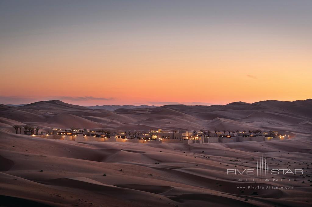 Royal Pavilion Sunset Views at Qasr Al Sarab Desert Resort by Anantara, United Arab Emirates