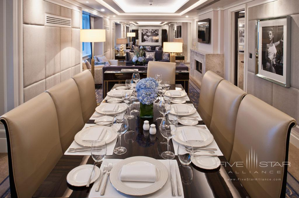 Penthouse Suite Dining At The Wellesley