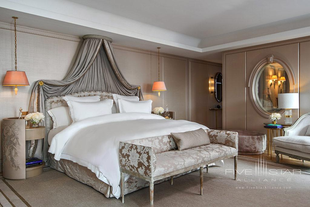 Guest Room at Hotel de Crillon, Paris, France