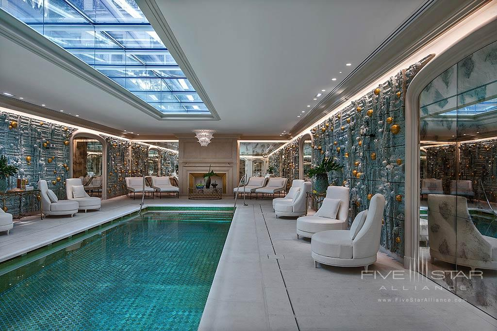 Indoor Pool at Hotel de Crillon, Paris, France