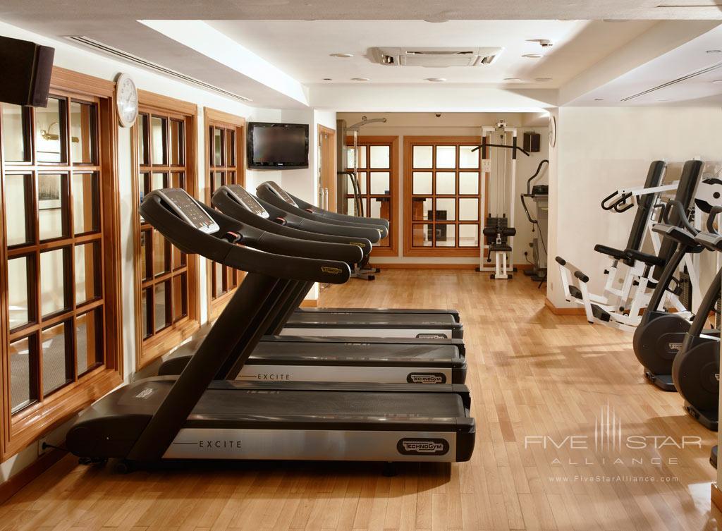 Gym at Hyatt Regency Bishkek, Kyrgyzstan