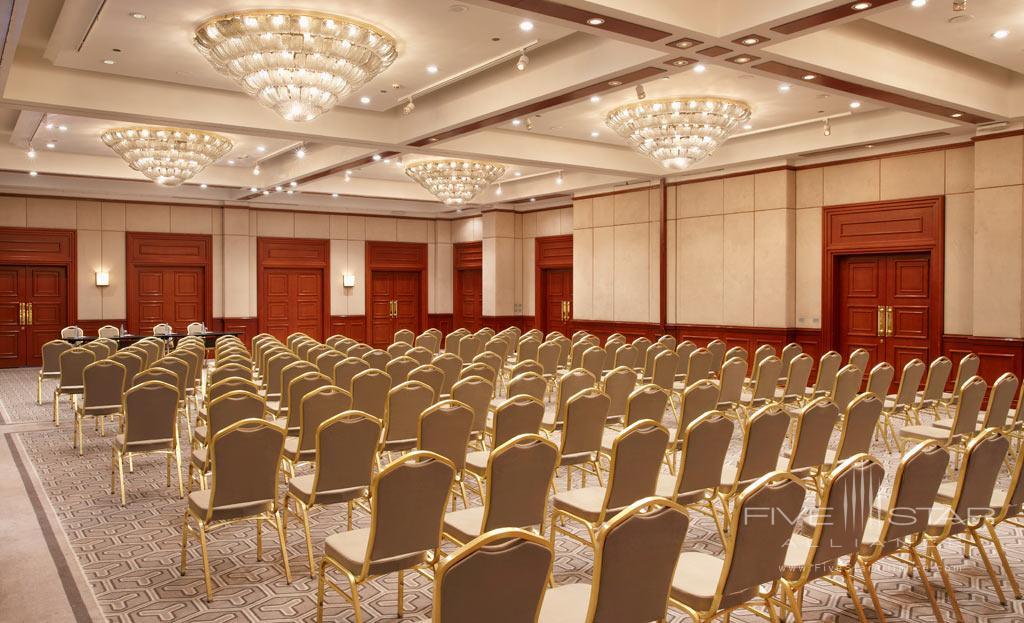 Meetings at Hyatt Regency Bishkek, Kyrgyzstan