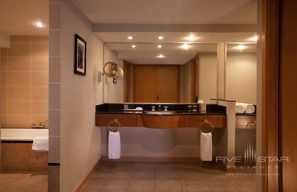 Executive Suite Bath at Hyatt Regency Bishkek, Kyrgyzstan