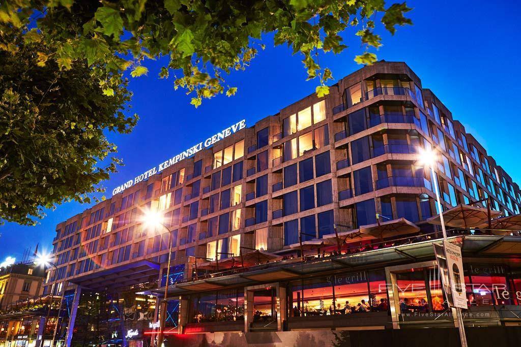 Grand Hotel Kempinski Geneva, Switzerland