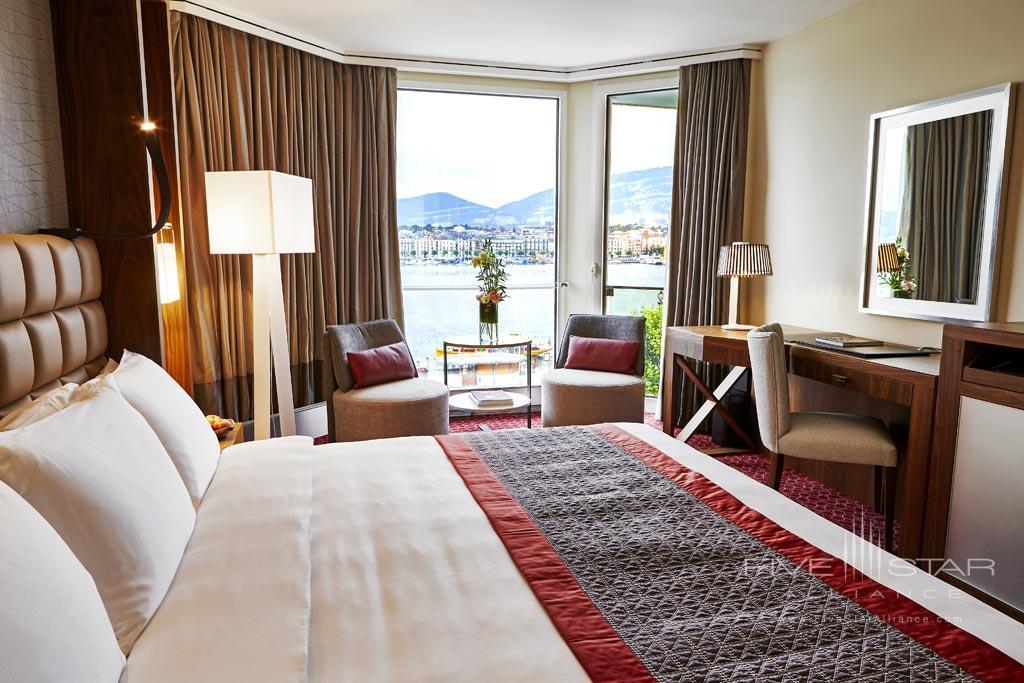 Deluxe Lake View Guest Room at Grand Hotel Kempinski Geneva, Switzerland