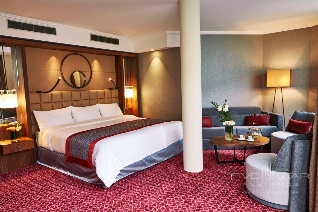 Deluxe Patio Guest Room at Grand Hotel Kempinski Geneva, Switzerland