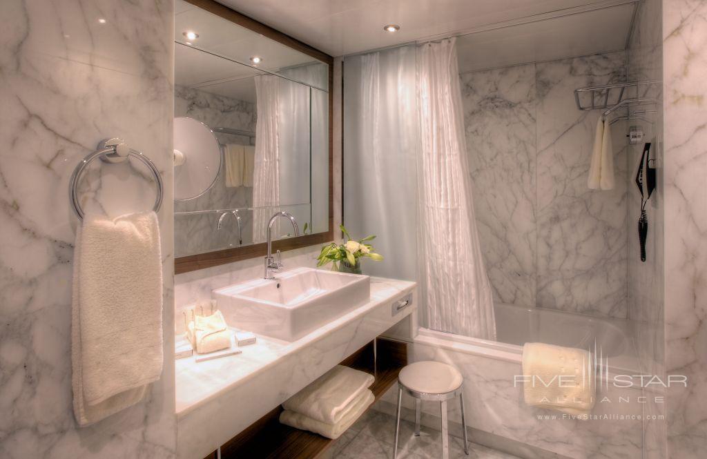 Superior Bath at Grand Hotel Kempinski Geneva, Switzerland