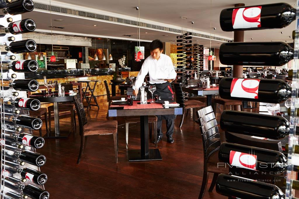 Bar at Grand Hotel Kempinski Geneva, Switzerland