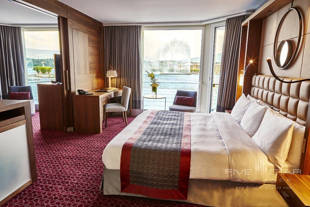 Executive Suite Lake View Guest Room at Grand Hotel Kempinski Geneva, Switzerland