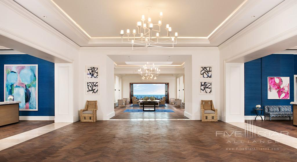Lobby of Monarch Beach Resort, Dana Point, CA