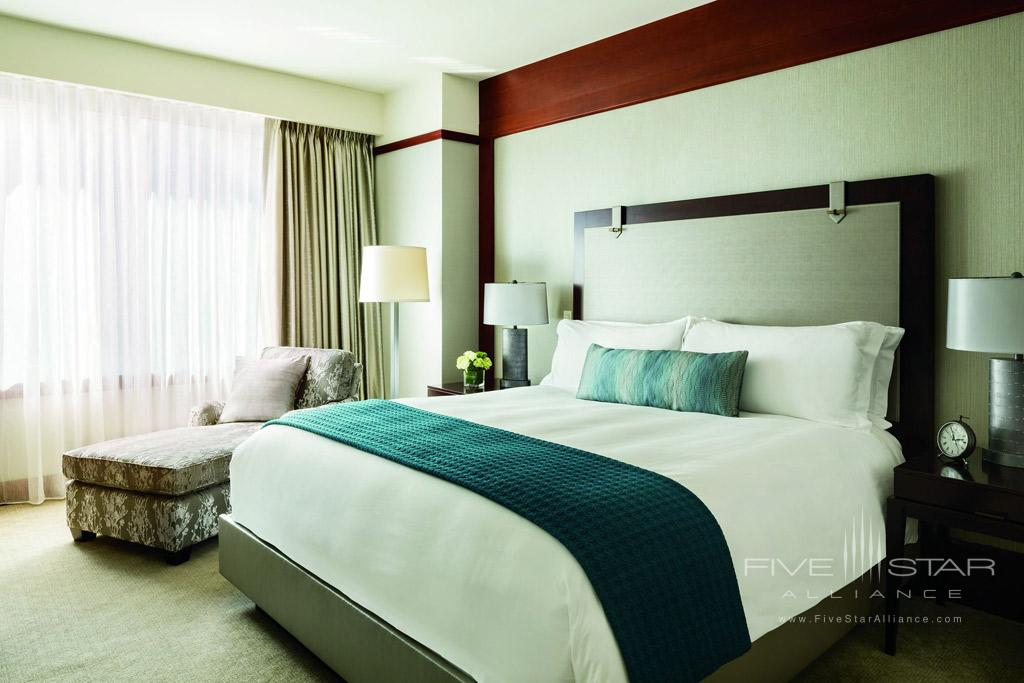 Guest Room at Ritz Carlton Washington DC
