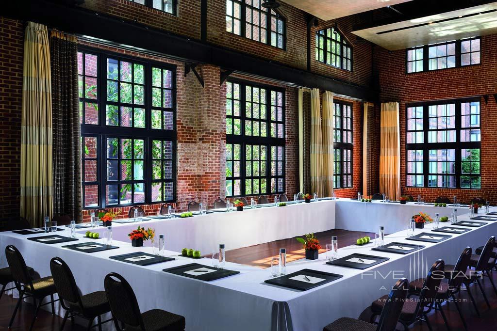 Meetings at Ritz Carlton Washington DC