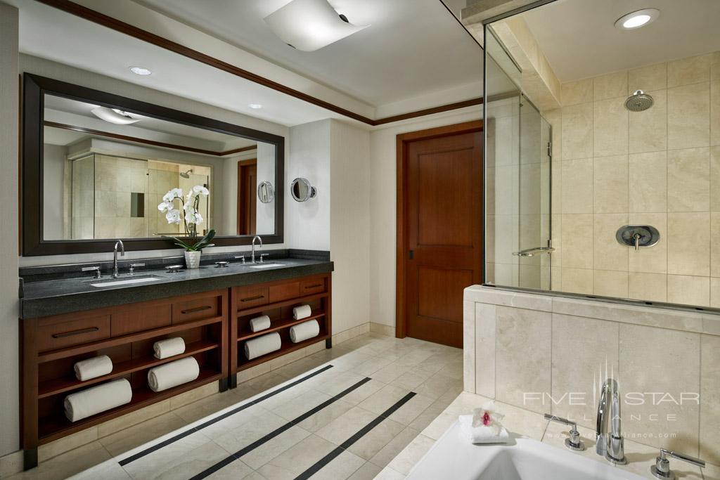 Guest Bath at Ritz Carlton Washington DC