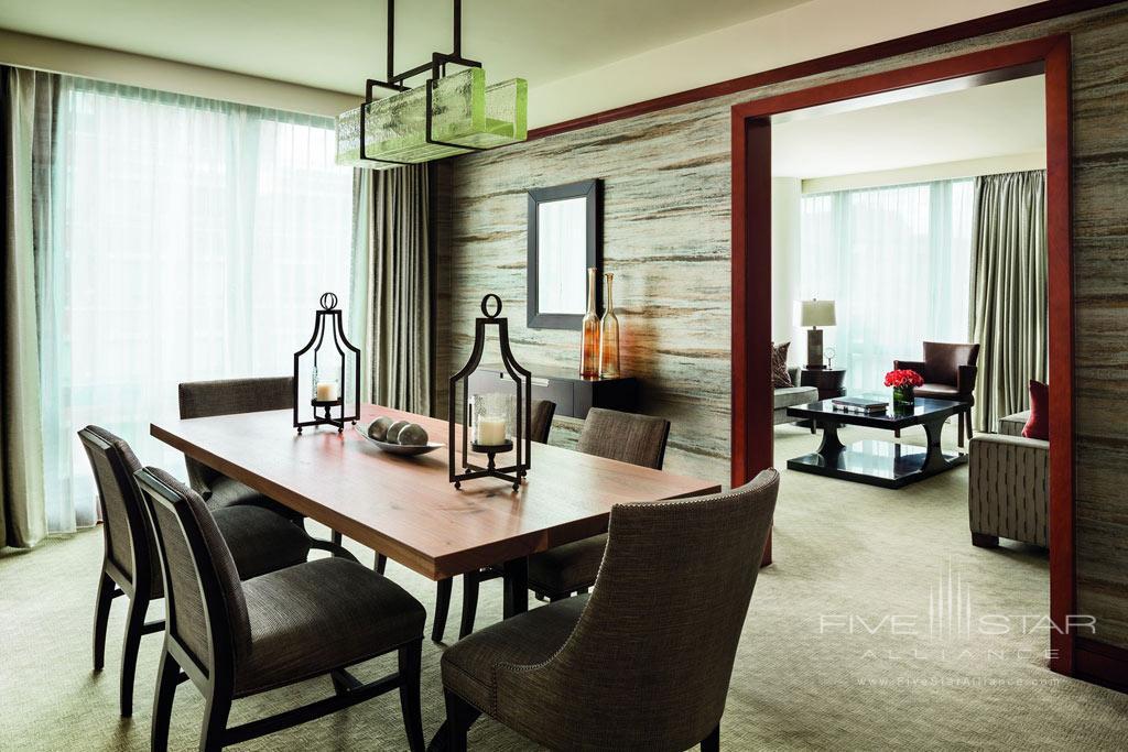 Suite Dine at Ritz Carlton Washington DC
