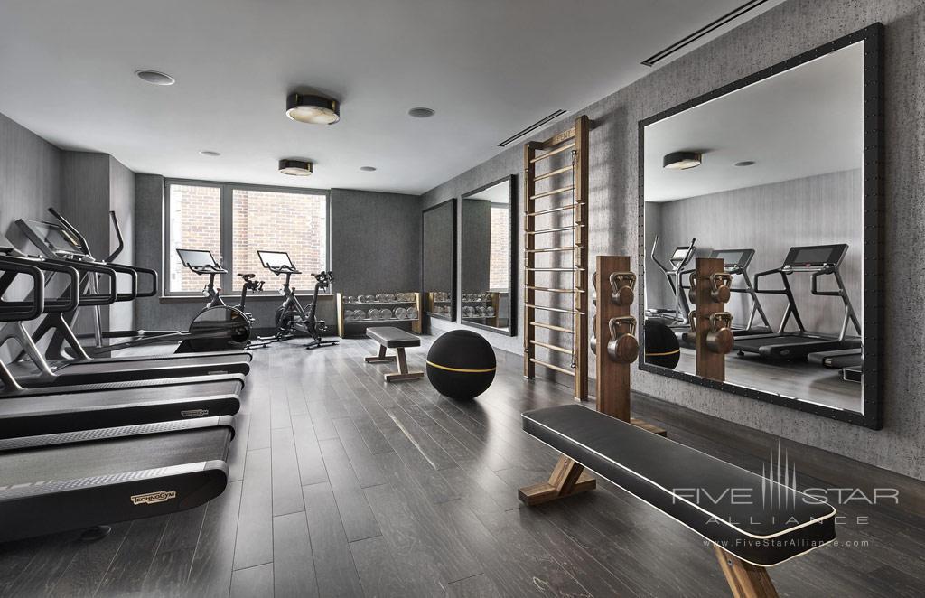 Fitness Center at Ritz Carlton Washington DC