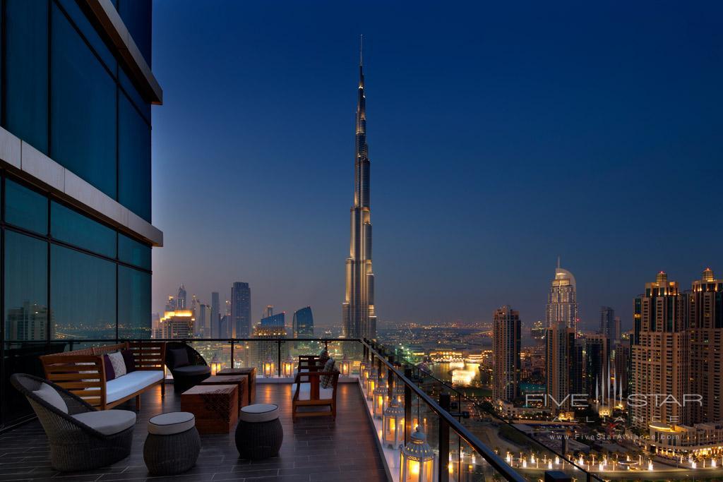Maharaja Terrace at Taj Dubai, United Arab Emirates