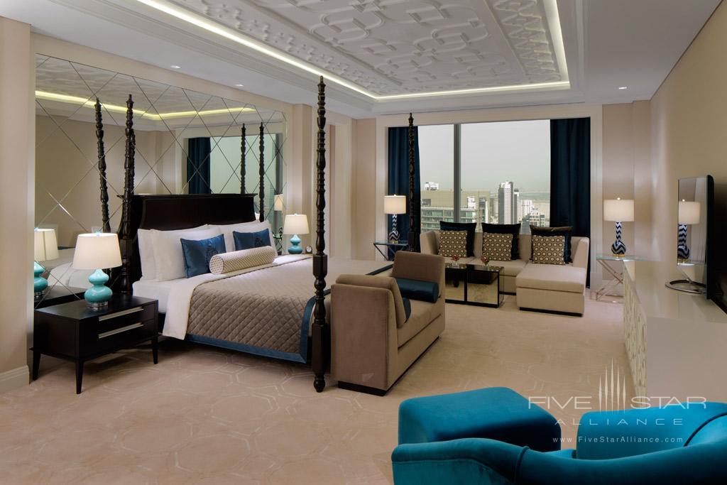 Presidential Suite Master Guest Room at Taj Dubai, United Arab Emirates