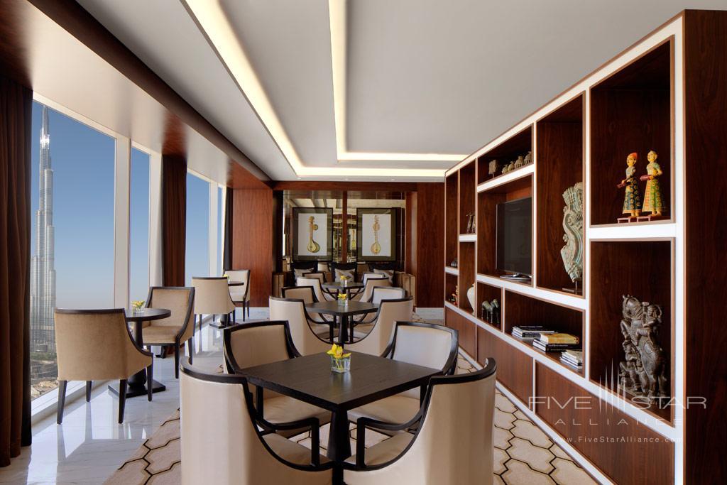 Taj Club Lounge at Taj Dubai, United Arab Emirates