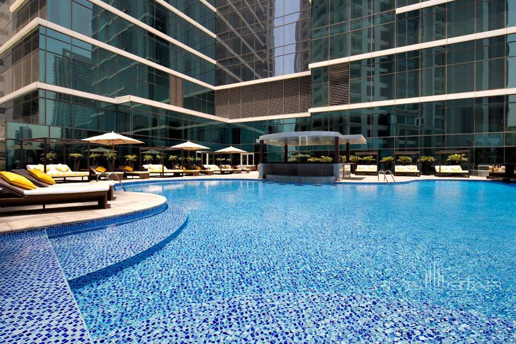 Outdoor Pool at Taj Dubai, United Arab Emirates