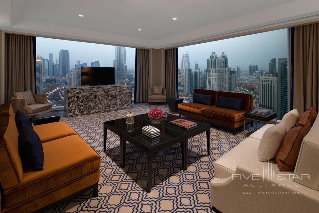 Grand Luxury Suite Living at Taj Dubai, United Arab Emirates