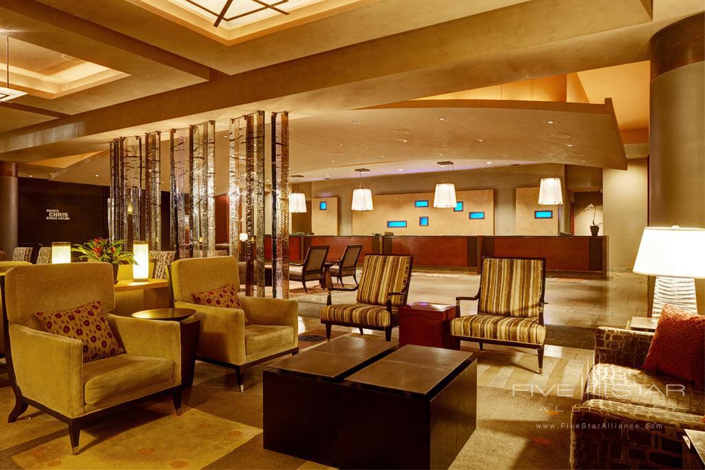 Lobby of Grand Hyatt Seattle, WA