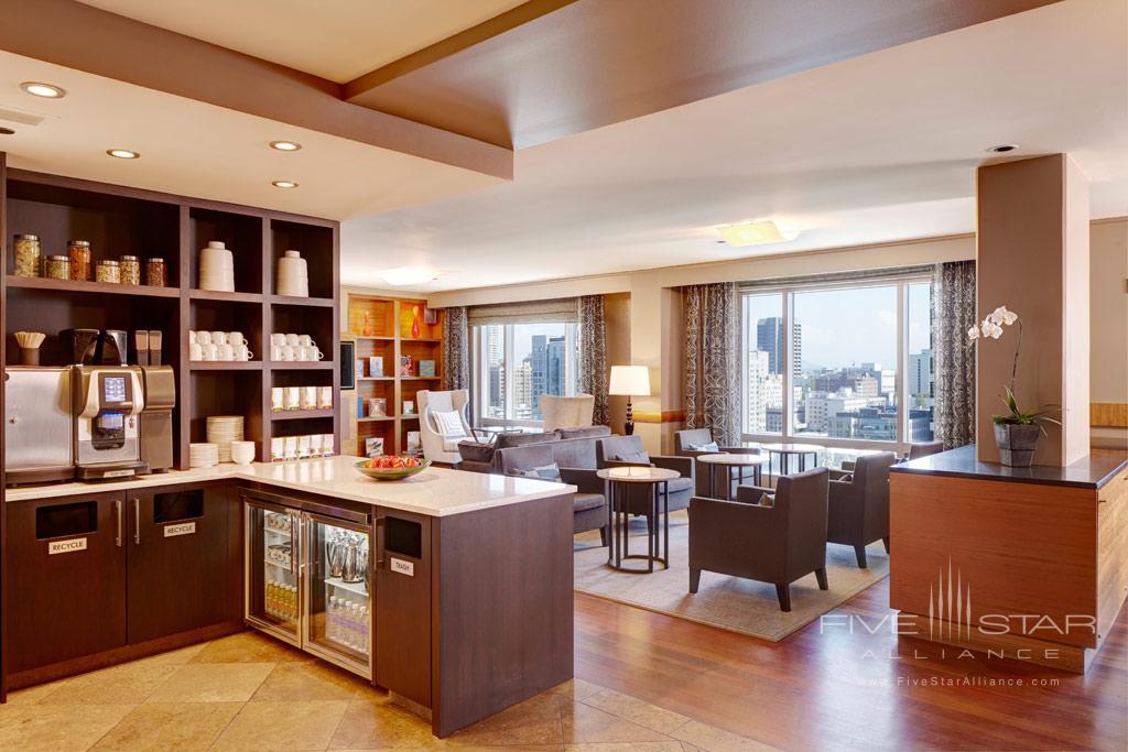 Lounge of Grand Hyatt Seattle, WA