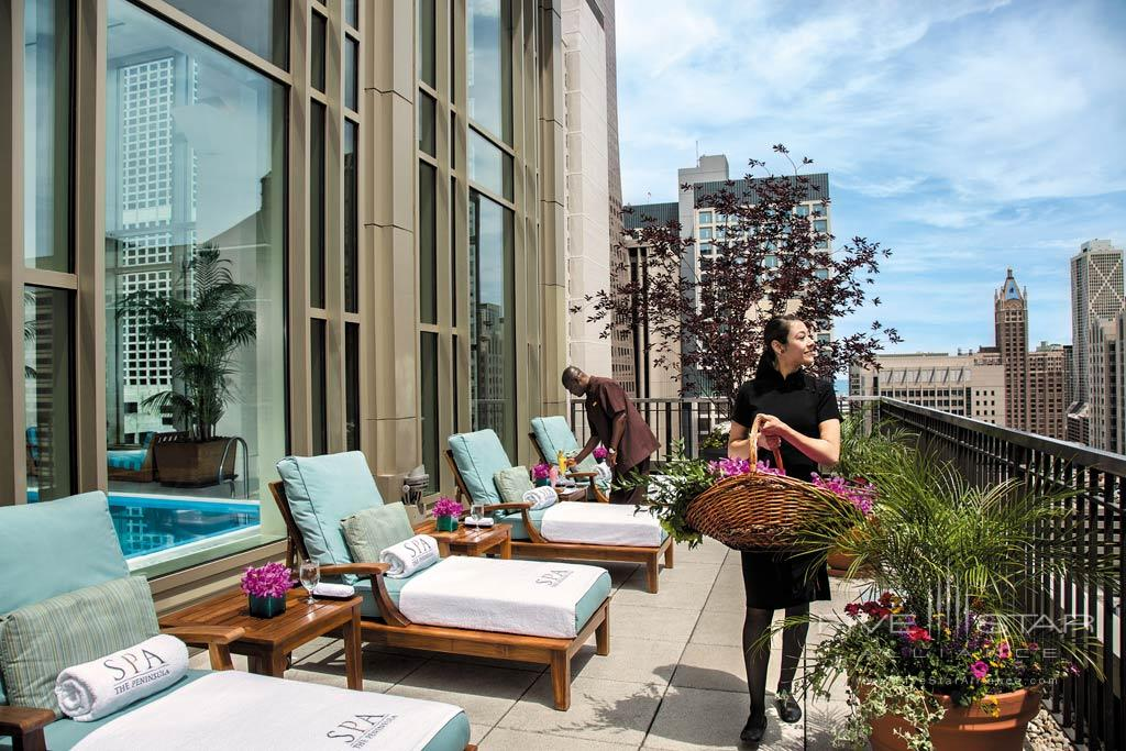 Sundeck at The Peninsula Chicago, IL