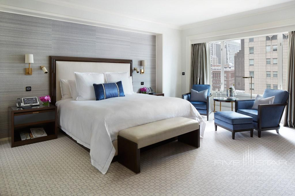Lake Suite Master Bedroom at The Peninsula Chicago, IL