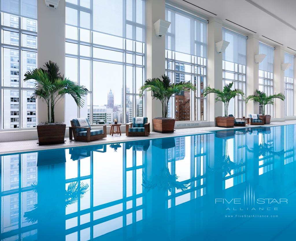 Spa and Pool at The Peninsula Chicago, IL