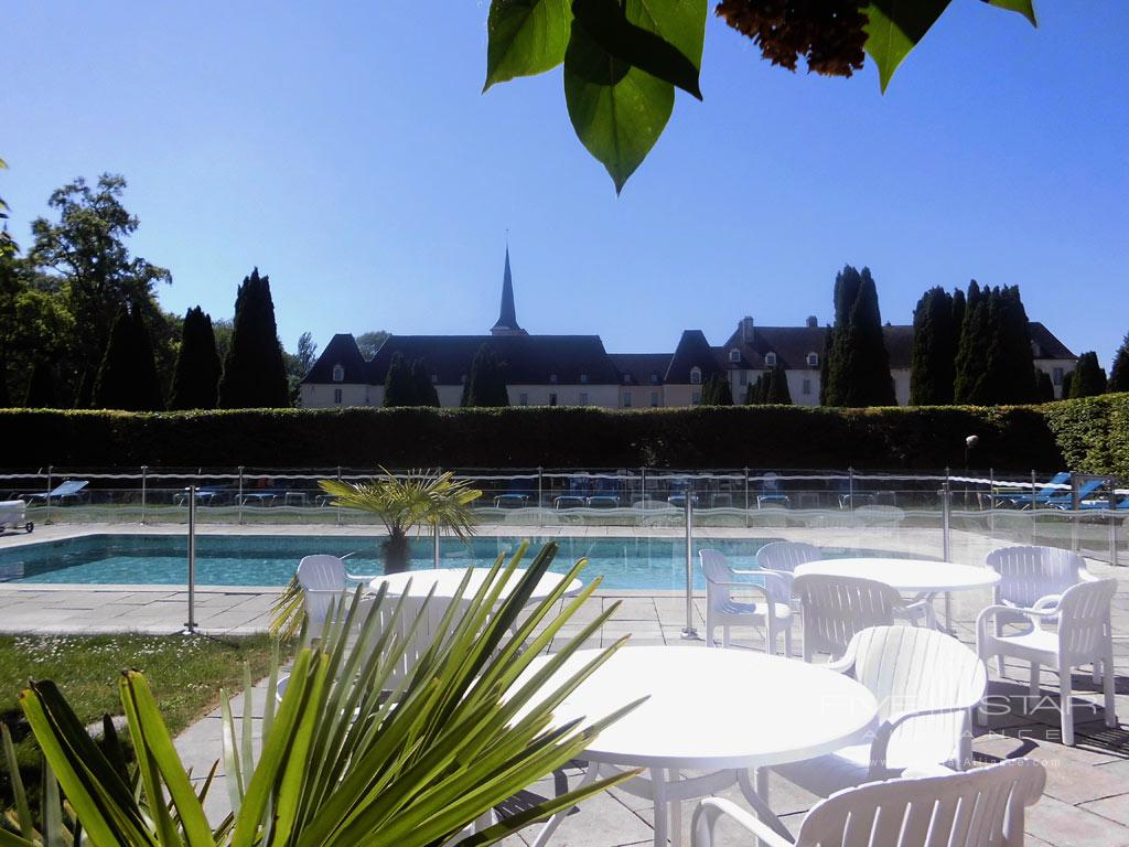 Outdoor Pool at Chateau de Gilly, France